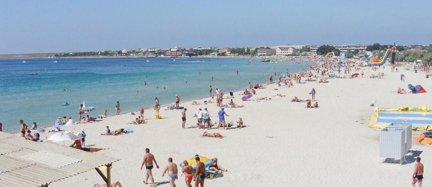 Пляж, Межводное